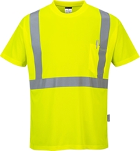 Portwest Hi-Vis Pocket T-Shirt