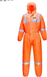 Portwest Hi-Vis SMS Coverall (50pc)