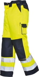Portwest Lyon Hi-Vis Trousers