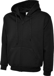 Uneek Adults Classic Full Zip Hooded Sweatshirt