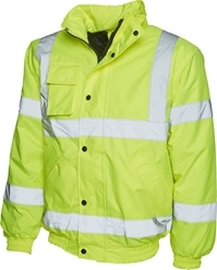Uneek High Visibility Bomber Jacket