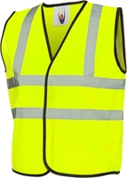 Uneek Childrens Hi-Viz Waist Coat